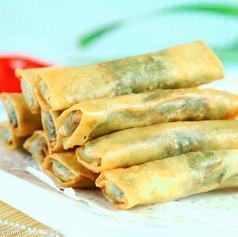 中华美食-野菜春卷图片