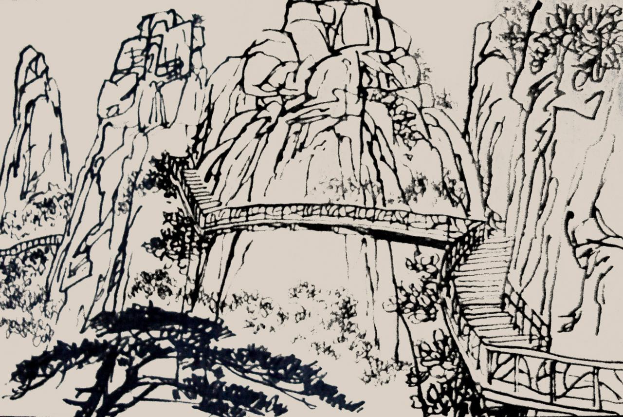 儿童画竹子的画法图片展示_儿童画竹子的画法相关图片下载图片