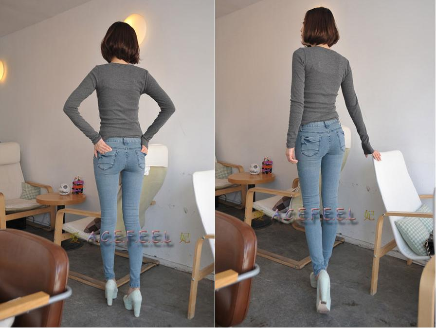 美女牛仔裤―美臀 34张