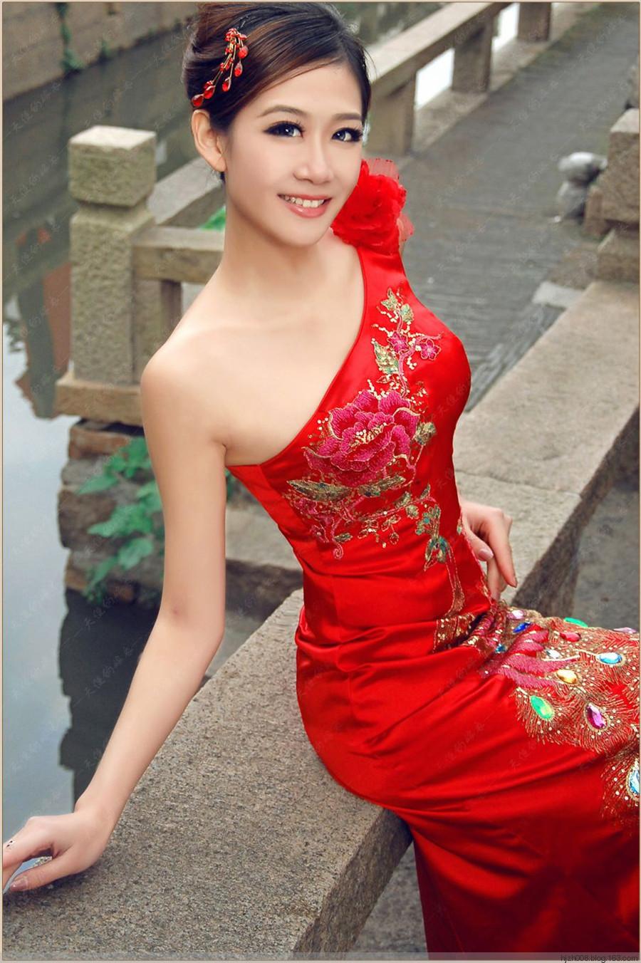 旗袍美女 8张 爱摄影