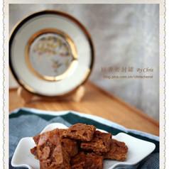 饼干-法式焦糖杏仁饼干
