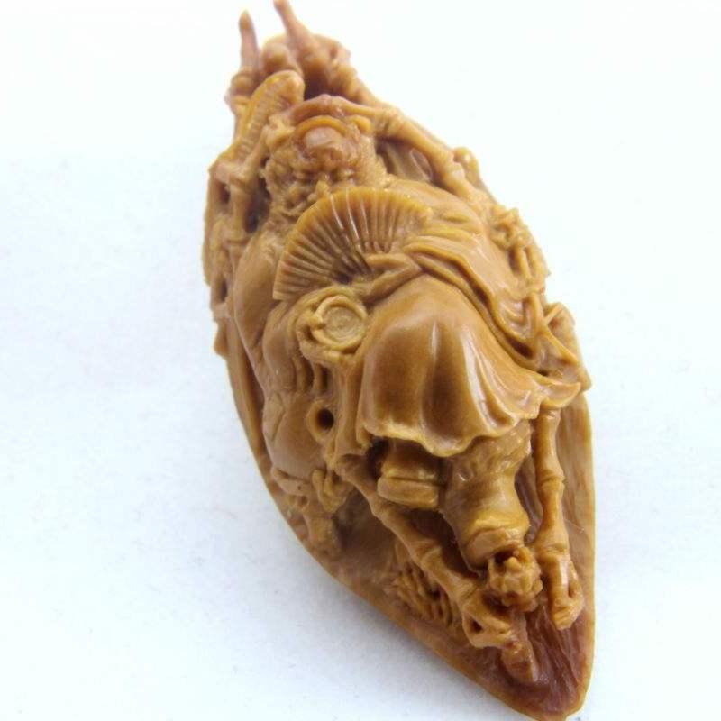 东阳木雕 核雕