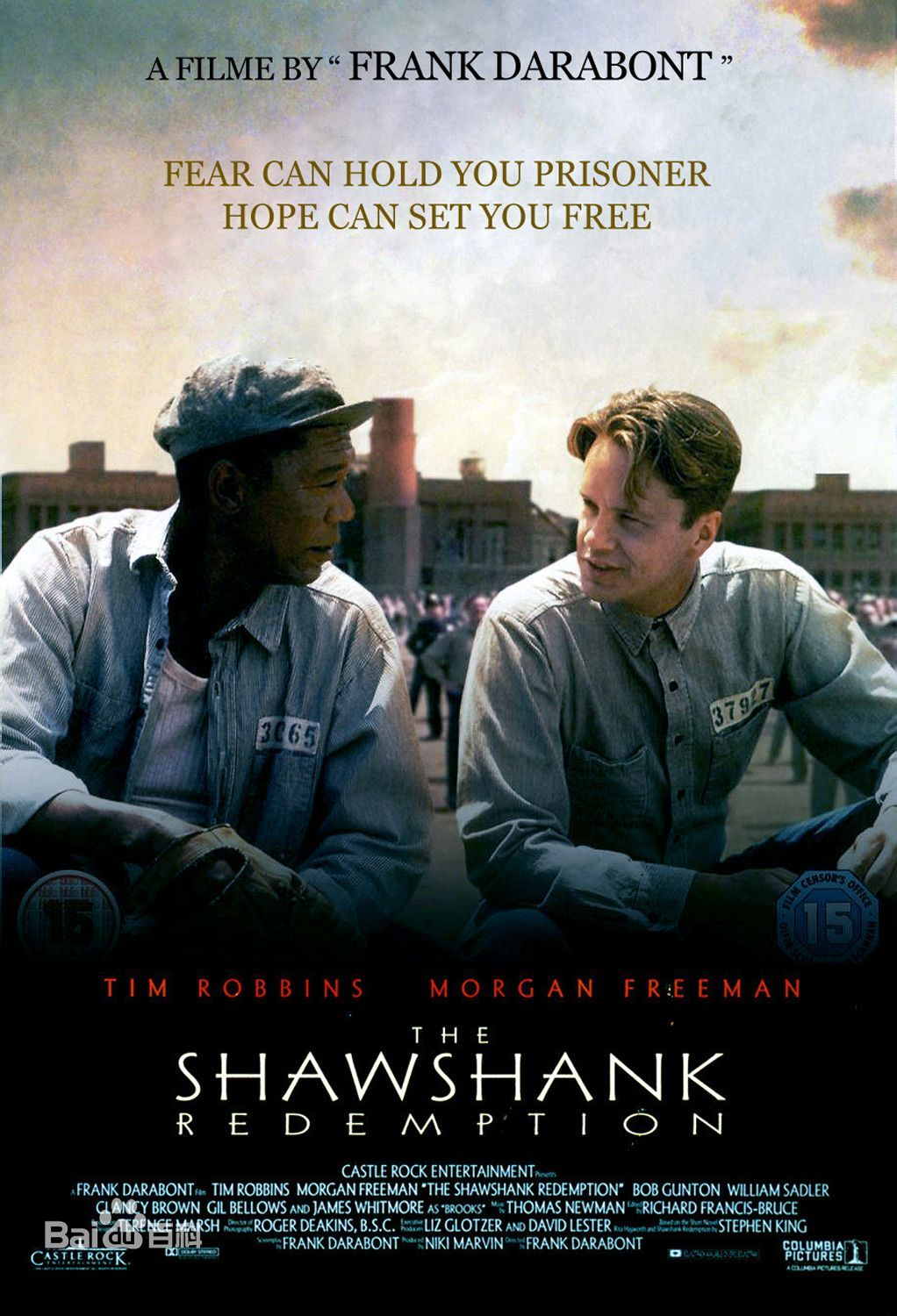a film analysis of the shawshank redemtion by frank darabont The shawshank redemption directed by frank darabont a powerful drama that  reminds us that hope is a precious and buoyant emotion that can give our lives.