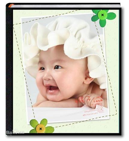 相册书和台历记录家人的团聚温馨的画面,朋友聚会开心时刻, 宝宝一路图片
