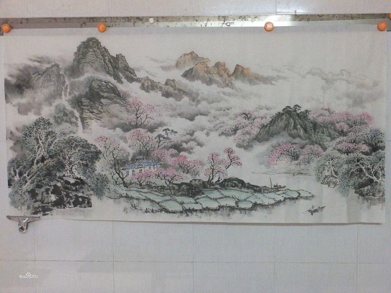 陈庆才山水画集