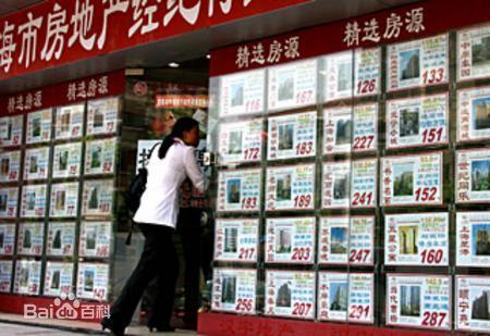 房屋中介 毕业效应 助力上海房屋租赁市场高清图片