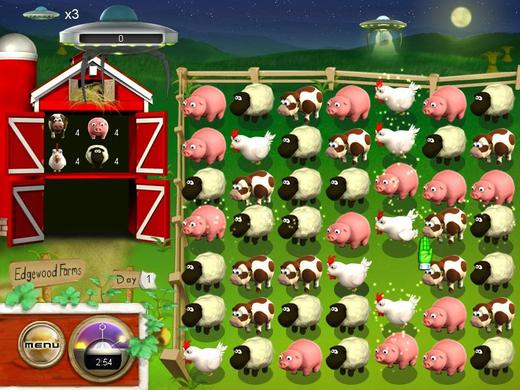 《牧场入侵》游戏截图