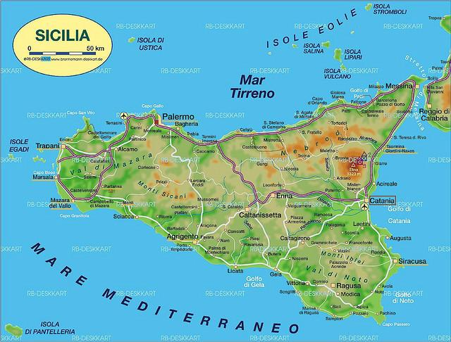 东与亚平宁半岛仅隔宽3公里的墨西拿图片