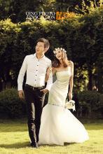青摄影会馆婚纱摄影《梦幻蒂凡尼》
