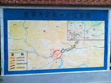 廋家河战斗平面地图