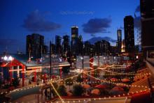海军码头夜景