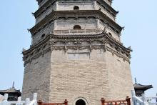 法门寺真身宝塔