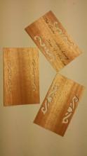 木质压花书签图册