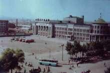 牡丹江老汽车站(现文化广场)