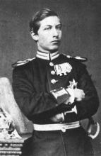 青少年时代的威廉二世
