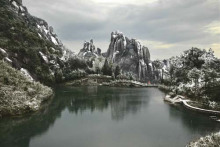 太姥山雪景