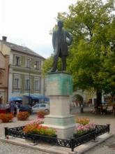 利托米什尔的斯美塔那纪念碑