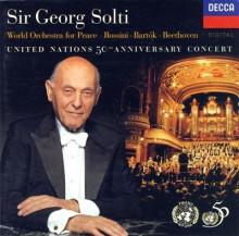 索尔蒂指挥世界和平交响乐团作品