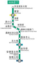 8号线一期工程奥运支线北土城站至森林公园南门站图片