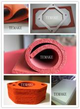 布纹硅胶发泡板材