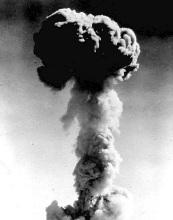 原子弹及爆炸图片