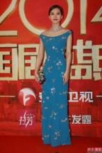 2014国剧盛典红地毯 刘诗诗