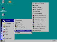 Windows NT 4.0 界面