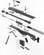 M82A1分解图