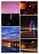 Xi'an night view