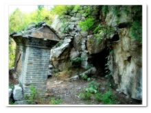苍龙峡生态景观照片