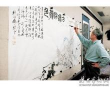 范曾先生创作《古道照颜色-周汝昌》
