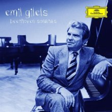 吉列尔斯的钢琴艺术 CD封面