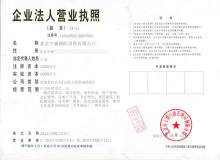 企业法人营业执照样本