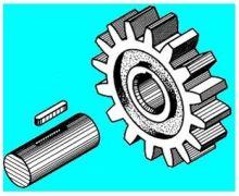 渐开线花键连接 渐开线花键的齿形为渐开线,其分度圆压力角规定了30图片