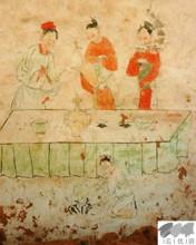 元宝山元墓壁画及文物