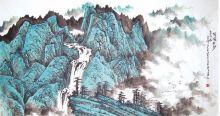 自幼喜欢书画,随著名山水画家施明德,朱恒二位先生学画.图片