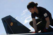 航空自卫队三菱F-2航空支援战斗机