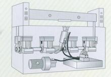 平面式裁断机内部结构