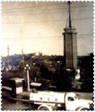 拍摄于1959年的二七塔老照片