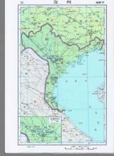 北属时期的交州(南朝齐时期)地图