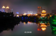 天津里运河风光