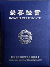 世界华人艺术精品大展'获奖证书图册