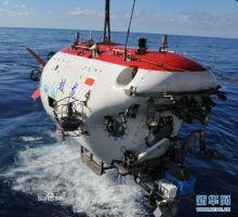 蛟龙号首次搭载同济大学教授进行科学实验
