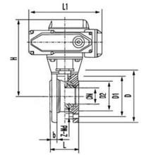 q971f电动球阀图片