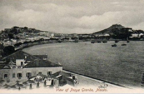 19世纪澳门港