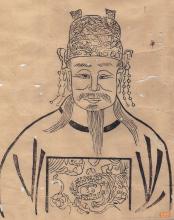 古代美女画像素描简单