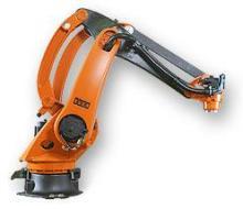 2,托盘关节机器人 二个或四个旋转轴,以及机械抓手的定位锁紧装置.图片