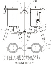 双联过滤器结构示意图图片