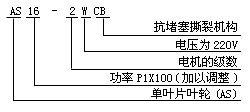 永球AS型潜水排污泵