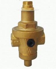 区别于一般的活塞式减压阀,薄膜式减压阀出口压力更稳定,不随入口压力图片